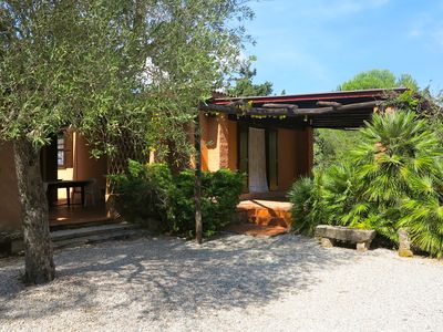 Photo for Podere le Bombarde, 150 meters from the sea, for 5 people, with garden and verandas