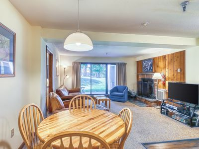 Photo for Family-friendly condo on route to slopes w/shared pool/hot tub/gym