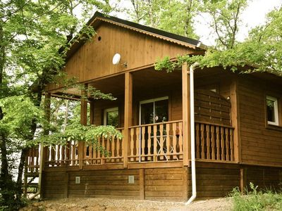 Photo for Camping La Garenne *** - Chalet Peonies 3 Rooms 5 Persons