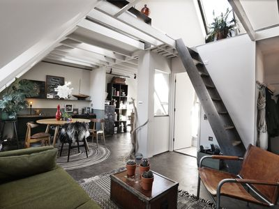 Photo for Contemporary loft style apartment. Private escape. Private parking.
