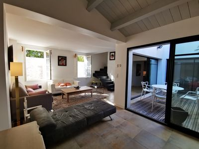 Photo for Ile de re - in the heart of La Flotte - House 4 People - Quiet not overlooked