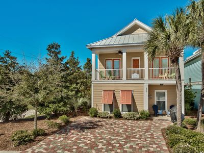 Photo for Luxury Beach Home, Walk to the Beach, Wi-Fi, Grill, Resort-style Pool