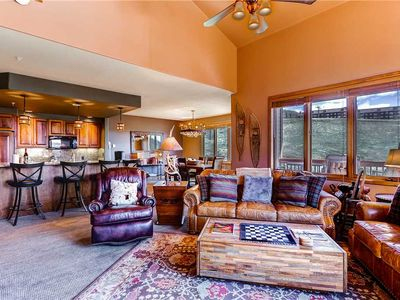 Photo for Gorgeous Mountain views from this ski-in/ski-out condo with shared pool/hot tub