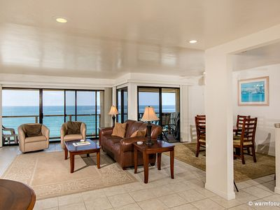 Photo for Witness Unforgettable Sunsets in this Mid Level, Ocean Front 2BR Condo. #94