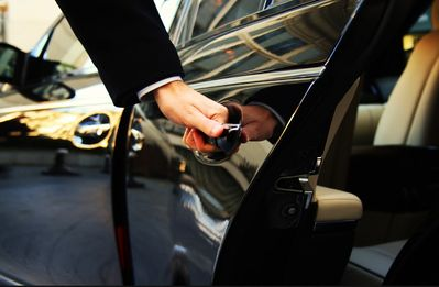 FREE CAR SERVICE PICKUP for 7-night stays.  DISCOUNT for fewer nights.