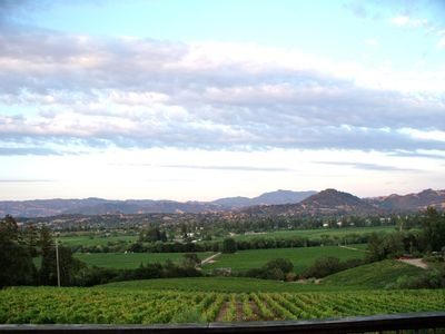 Photo for Healdsburg Bliss House-Sonoma Wine Country Sweeping Panoramic Vineyard Views