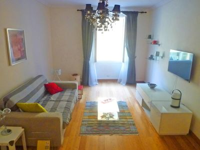 Photo for Nice Port: Beautiful 2 bedroom apartment in the Rue Bonaparte