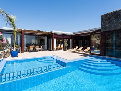 Photo for EXCLUSIVE VILLA WITH PRIVATE HEATED POOL & JACUZZI.