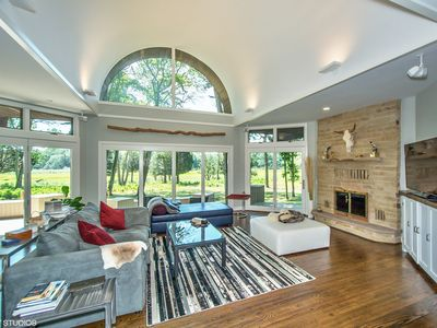 Photo for Newly renovated Sag Harbor home with beautiful bay view, Gunite pool & hot tub