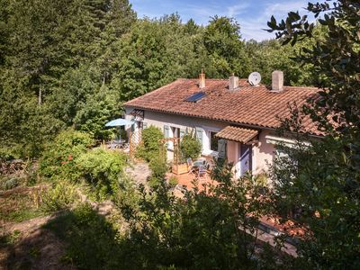 Photo for Surrounded by forests, foothills & rivers, spacious Gite in the Cathare Country
