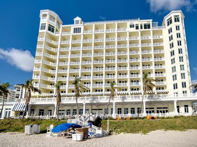 Photo for Pelican Grand-Right on ocean! 2 Queen Beds - Best unit in the Resort !!