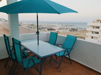 Photo for Duplex Penthouse with spectacular views of the bay of Tangier.