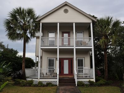 Photo for Reduced.rates.3.Bedroom, 3.Bath. Pvt Pool.half Block To Bch MILITARY DISCOUNT