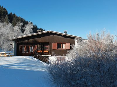 Photo for Chalet of 150 m2, ideal for 3 families with children, 500 meters from the slopes