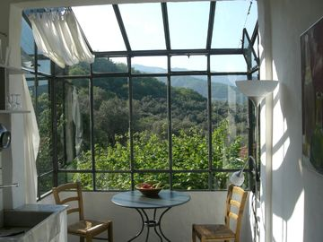 Country house in an olive grove with a large garden and a panoramic view - Casa Limone
