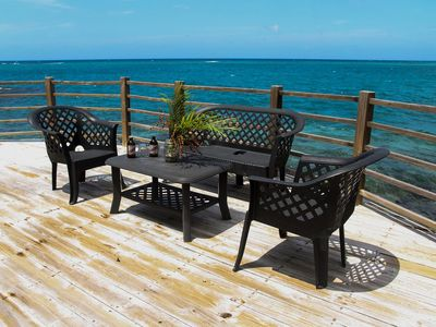 Private Sundeck with direct Seaview and Sea Access for our guest!