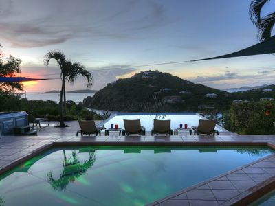 Photo for Rated by travelers the best vacation villa on St. John