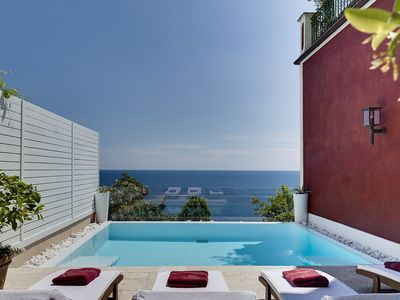 Photo for luxury-villa, family-friendly, central-location, sea-view