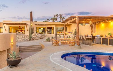 Photo for Casa Del Mar - Santa Fe Inspired Home With Gracious Mediterranean Style Living