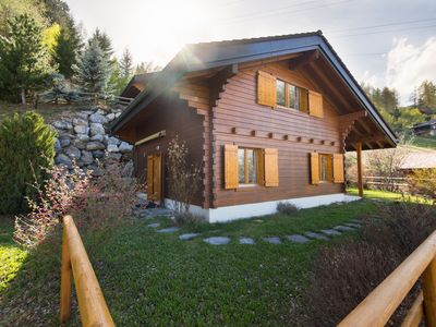 Photo for Chalet Mar'mot, La Tzoumaz, Switzerland