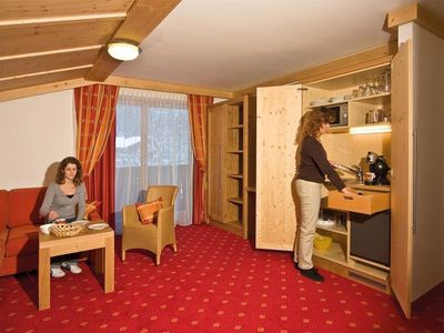 """Photo for 7 days including 6-day ski pass in the Appart. """"Torstein"""" - Alpenhof, country hotel"""