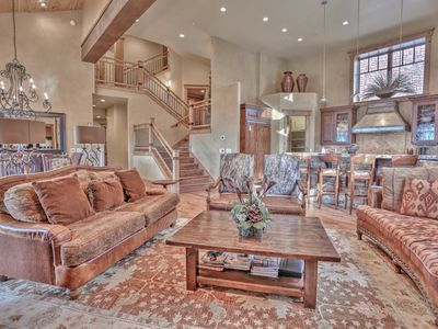 Photo for Ultimate Silver Lake Deer Valley Getaway - Hot Tub, Views, Theatre, Shuttle + More!
