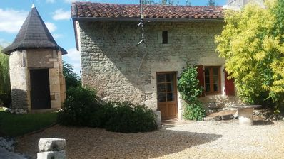 Photo for Charming 16th Century  Stone Cottage  located in small village of Palluaud