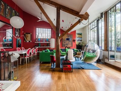 Photo for A colourful and convenient retreat in the heart of Montparnasse (Veeve)