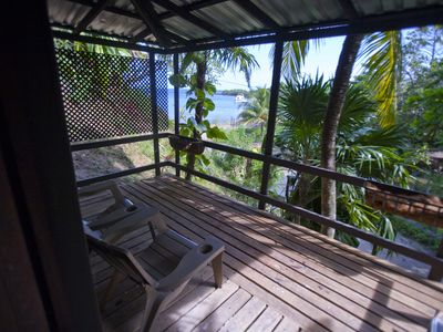 Photo for Water Front Casita On Tropical One Acre Estate