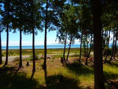 View of Lake Huron from house