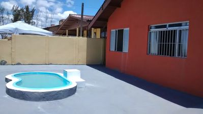 Photo for House with Suite and Pool facing the Sea