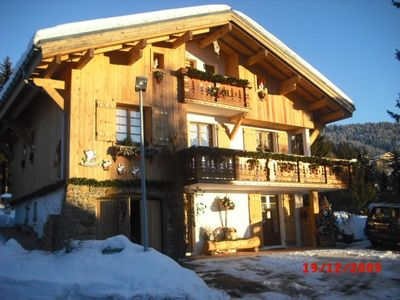 Photo for 3 * Apartment in a chalet in Crest-Voland 4 persons