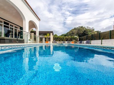 Photo for 190 relax tranquility with private pool and garden and 5 minutes from cala, wiffi