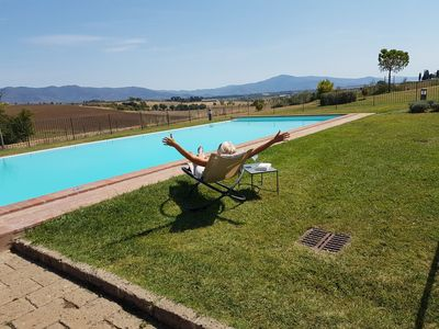 Photo for Luxurious Apartment In Renovated Authentic Borgo With Swimming Pool