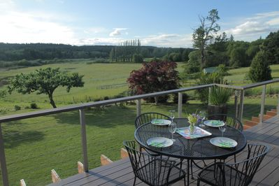 Deck with view of Maxwelton Valley