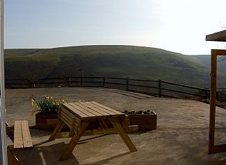BBQ & seating area