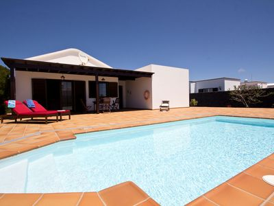 Photo for Very centrally located, detached villa with private swimming pool in Lanzarote