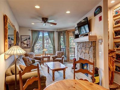 Photo for Stunning Mountain Views! Located downtown Breckenridge! Beautifully decorated!