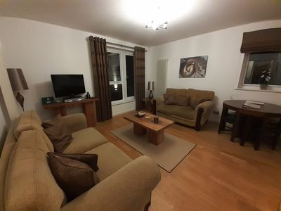 Photo for The Park - Holyrood Road Apartment with free parking and lift access