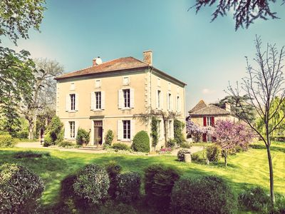Photo for Stunning Spacious Maison de Maitre set in the midst of Gascon Countryside