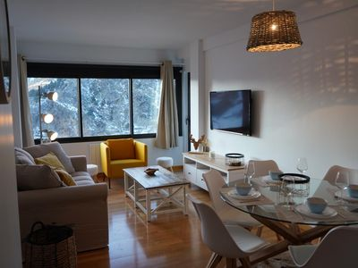 Photo for cozy apartment 5 minutes walk from the ski slopes