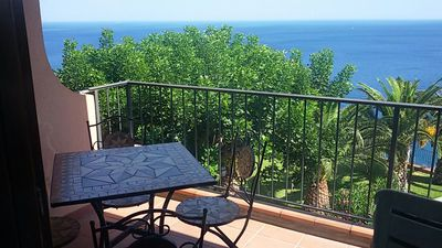 Photo for Casa Belvedere - apartment near Taormina with lovely sea view