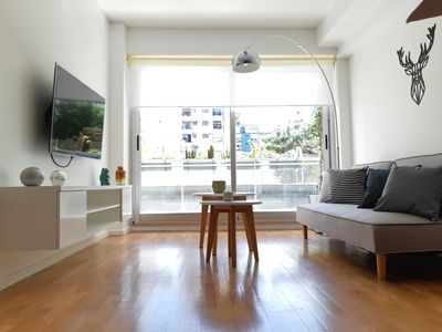 Photo for Modern minimalist apartment, in the heart of Palermo