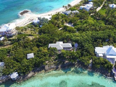 A completely secluded home, with lots of room on the North End of Elbow Cay