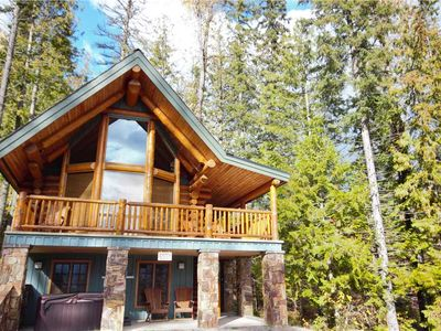 Photo for Authentic ski in/ski out log cabin sleeps up to 9 located along the Elk Chairlift