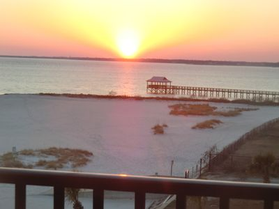 Photo for Pass Christian Henderson Point 100% On-Beach Condo--No Fees by Owner