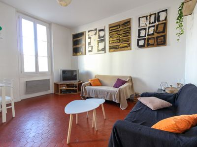 Photo for CHARMING 2-BEDS FLAT - IN THE HEART OF MARSEILLE