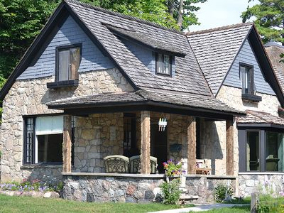 Photo for Charlevoix Mushroom House, The Cottage. Close To Downtown, 1 Block To The Beach.