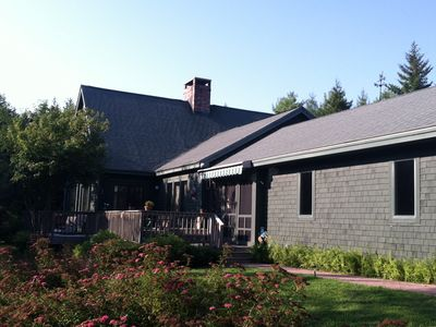 Photo for Tasteful Mountain Cottage Within Walk to Ocean Town and Acadia