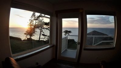 Watch the sunset from the privacy of your own room